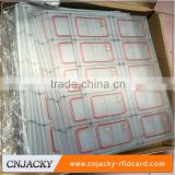 Guangzhou factory 13.56mhz Waterproof passive nfc RFID Tag card inlay cheap