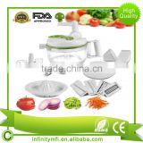 Professional Garlic Press Vegetable Chopper Garlic Mincer Slicer Press For Garlic Soft Vegetables Nuts Foods