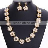 Factory wholesale wedding accessories classic pearl jewelry sets