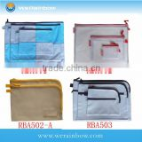 Mesh Bag/Zipper /Mesh Pouch/File