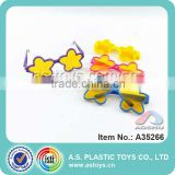 Promotional Colorful Small Plastic Glasses Frame Toy For Baby