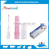 NL302 Aluminum hub disposable veterinary injection needle