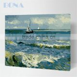 Bona Digital Oil Painting By Numbers Diy Home Decoration Start Sailing