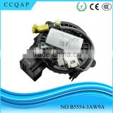 B5554-3AW9A High quality cheaper price spiral cable sub-assy clock spring assembly steering wheel airbag for Sunny Tiida