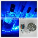 Wholesale art and craft supplies wedding party supplies led bottle glorifier with 9pcs SMD LED