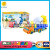 Bo toys carton car universa mixer truck with music for sale
