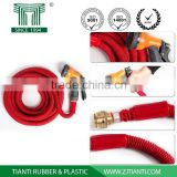Factory Direct 2016 25FT 50FT 75FT 100FT Magic Hoses Garden Watering Copper Fitting with Valve