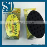 Trade Assurance Factory for Sale Magic Hair Twist Sponge for Black Men Sponge Brush for Hair Made Black curly hair Sponge