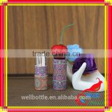 Wrapping paper tubes with colorful paper cardboard tubes for paper lipstick tube