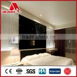 Solid/Metallic Color Glossy Aluminum Composite panel for interior decoration metal acp sheets