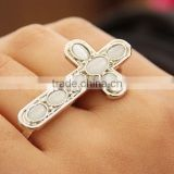 Hot rings jewelry women crucifix ring