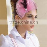MYLOVE pink mini top hat with bow new design factory sell MLXM062