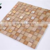 MB SMP33 Sweet Home Decorative Glass Mosaic Mix Natural Stone Mosaic Tile Hotel Mosaic Wall Tile