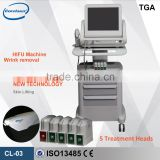 8MHz HIFU Wrinkle Skin Rejuvenation Removal Machine No Pain