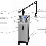 Acne And Acne Scars Surgical Scars RF Treat Telangiectasis Drive Fractional CO2 Laser Machine Skin Regeneration