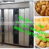 Rotary hot air bread baking machine/pastry cake baking oven/biscuit cookies baking oven for sale