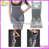 Gray Color Eco-Friendly Sexy Women's Natural Bamboo Charcoal Slimming Body Shaper X-XL OR XXL-XXXL
