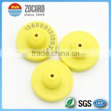 Polyurethane UHF RFID Animal Ear Tag For Cattle Sheep Rabbit