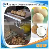 ZY Automatic Coconut Dehusking Peeling Machine With Factory Price (whatsapp:0086 15039114052)
