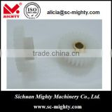 small module 0.8 nylon spur gears with grub screw