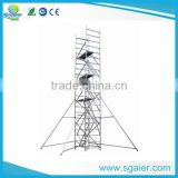 multifunction rising aluminium scaffolding mobile tower