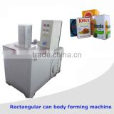 Semi-automatic chemical rectangular can machine proudction line