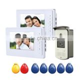 Infrared Nigh Vision Visual Doorbell, Wired Digital 7inch HD Video Intercom Doorbell For Wholesale