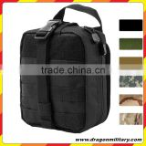 Tactical Rip Away Molle EMT Pouch Utility Medic Bag First Aid Kit Black