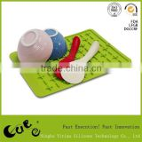 Non Slip Silicone Dish Drying Mat Table Mat