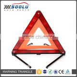 Foldable Emergency Roadside Reflective Triangle For Car Auto Truck