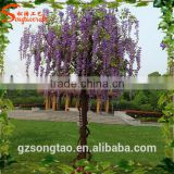 Most colorful flower tree wisteria artificial wholesale