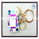 Charm Auto Car Model Key chain ring Crystal Keychain Rhinestone Pendant