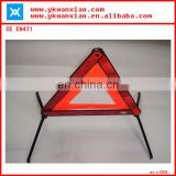 High Visibility roadway reflective triangle car warning light comply with EN471
