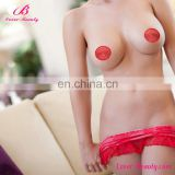 Private label womens hot sexy red decorative nipple cover