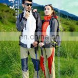 Factory Waterproof Popular 2017 women/men's outdoor clothing mauntaineering jacket