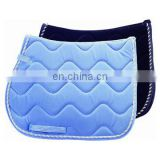 horse saddle pad with trim