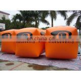 inflatable cube buoys for water advertising use