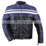 HMB-0412D LEATHER MOTORBIKE JACKETS MOTORCYCLE BIKER COATS