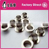 wholesale brass/iron shoe rope eyelets metal tag eyelet manufactory metal eyelets for shoes