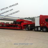 2/3/4 Axle lines 30/40/50 T/Tons CIMC Lowbed/Low Bed Trailer for Sale with Q345 material, 11m length