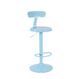 ZX-1604 Metal High Swivel Barstools Chair High Chairs For Bar Table