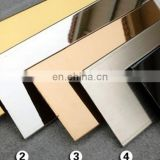 PVD coating colored 201 201 stainless steel sheet for wall panel