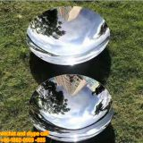 Surface Electroplating Stainless Steel Art Sculpture Modern Stainless Steel Sculpture