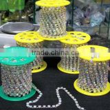 New Fashion Glass Crystal Cup Chain Rhinestone Trimming, China Quality Cup Chain Rhinestone Trimming, Wholesale Cup Chain Stone