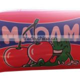Red pvc inflated pillows cartoon beach pillow for swimming toy pillow                                                                         Quality Choice