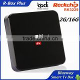 HD TV Kodi 16.1 Smart Mini PC 2GB RAM 16GB ROM Octa Core RK3229 CPU Android l 5.1 Lollipop Smart TV Box