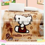 Adorable Cartoon Pattern Printed Coral Fleece Baby Blanket