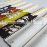 half wrapped on carton,100 pairs/PE bag 20-30 bags/carton (regular packing), sleeve, disposable bamboo chopsticks