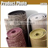 "72""x24"" size of the Eco-friendly natural rubber/jute yoga mat Custon Label Exercise Mat"