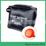 Premium Solar Camping Shower Bag, 10-gallon / Includes Removable Hose W/on-off Switchable Shower Head